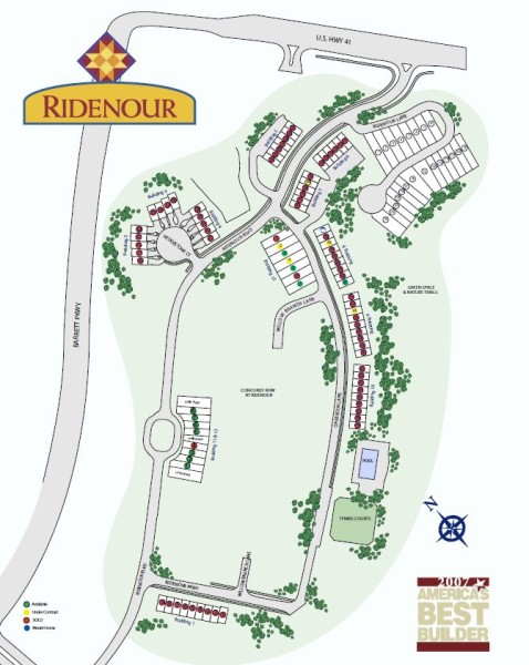 Kennesaw GA Community Ridenour Site Plan
