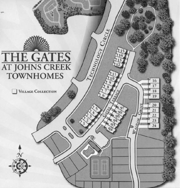 Subdivision Of The Gates At Johns Creek