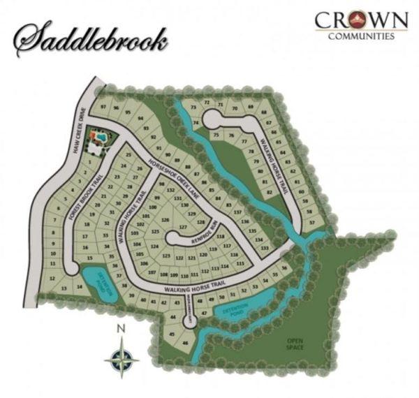Cumming GA Saddlebrook Neighborhood