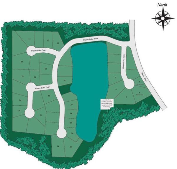 D.R. Horton Built Woodstock Neighborhood Waters Lake