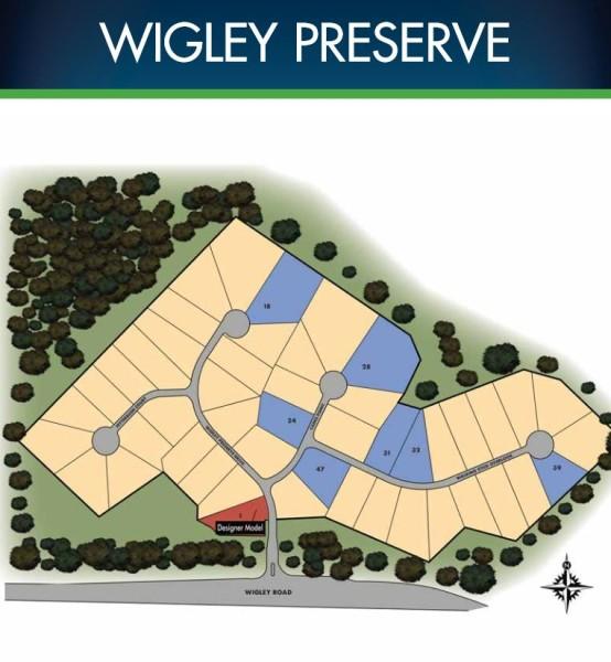 Marietta GA Site Plan Wigley Preserve