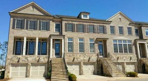 Ashton Woods Townhomes Cobblestone Manor