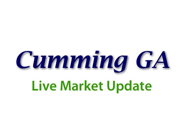 Cumming Market update