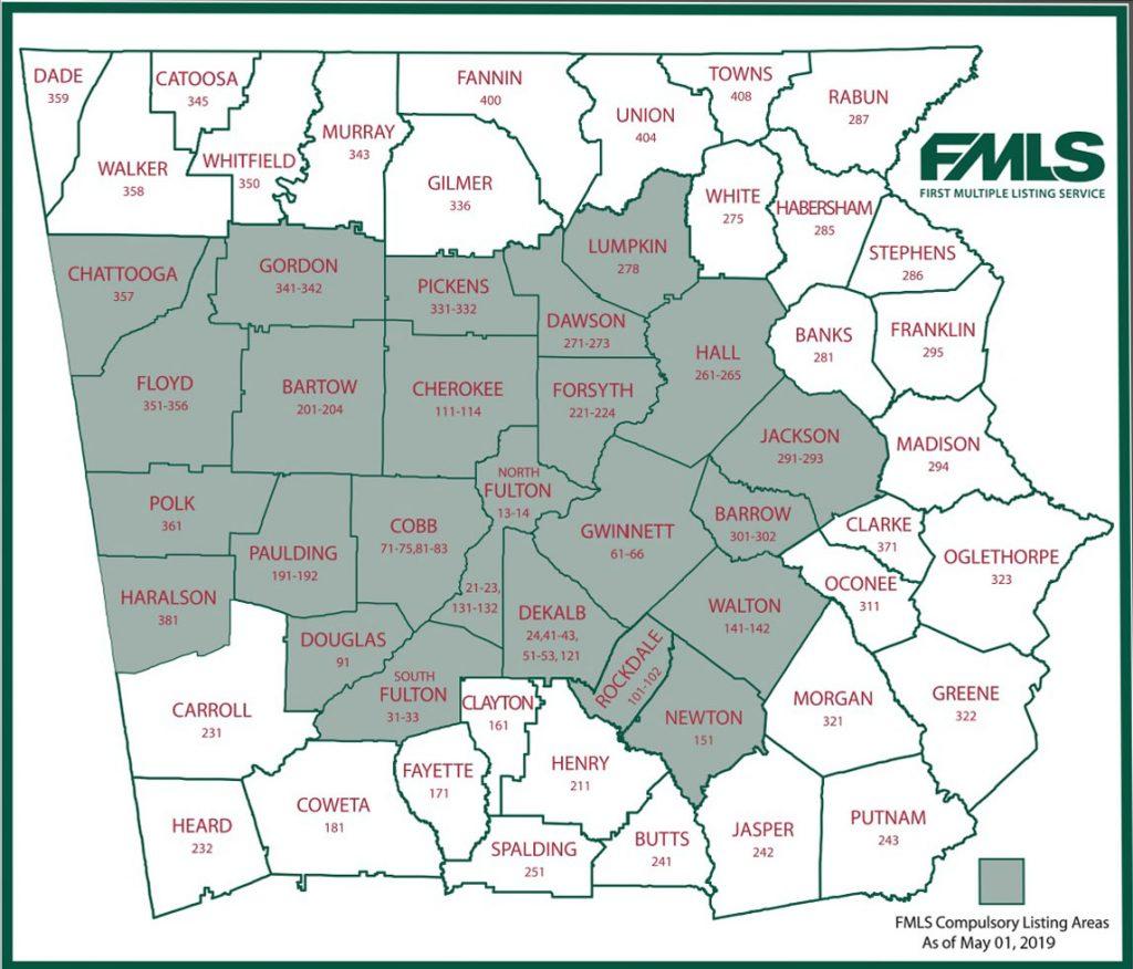 FMLS Compulsory Area Map 2019