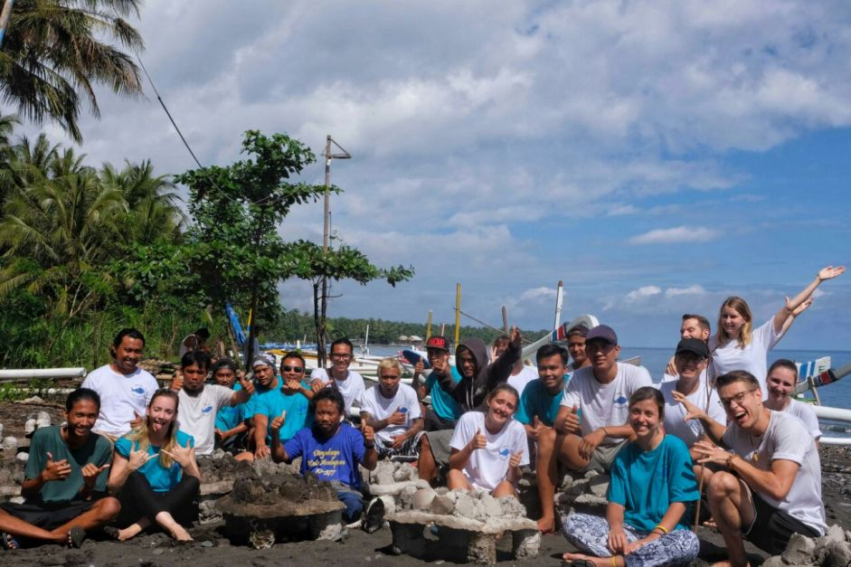 bali reef conservation volunteering program