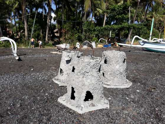constructing artificial reef structures