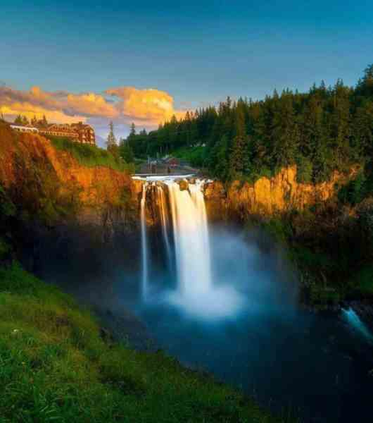 Snoqualmie Falls - Featured in Twin Peaks - North Bend Escapes