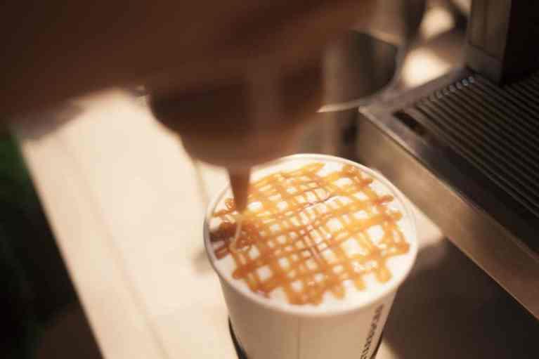 Starbucks Caramel Latte