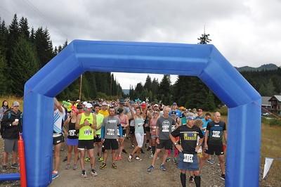 Cascade Express Marathon Starting Gate