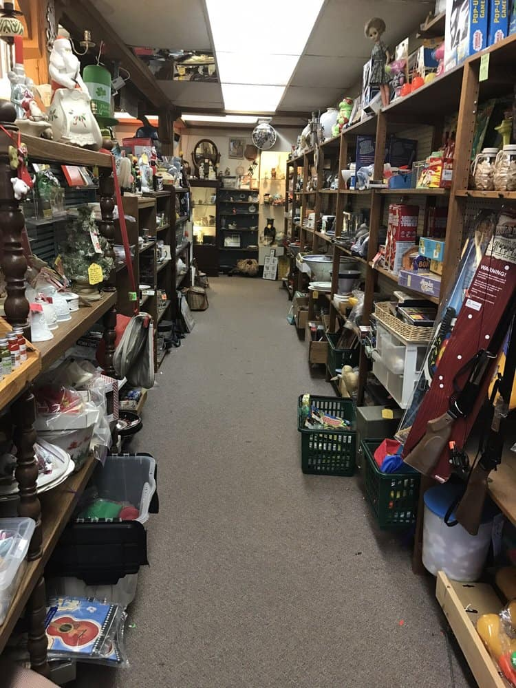 Aisle in Flying Frog Antiques