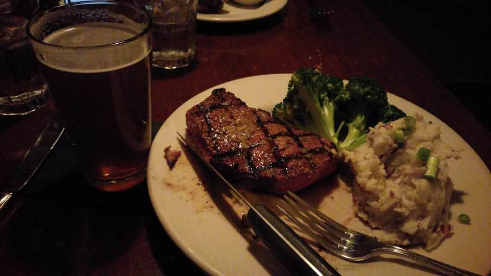 Jak's Grill Issaquah Steak Dinner