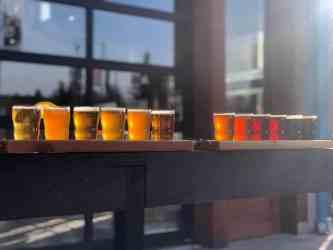 Snoqualmie Falls Brewery Rainbow