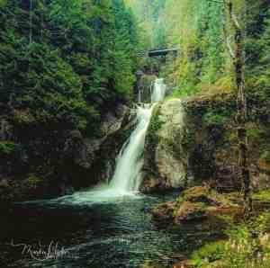 Cedar Falls in Cedar River Watershed