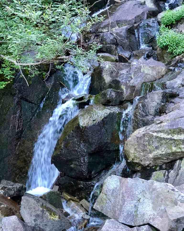 Ira Spring Trail Waterfall