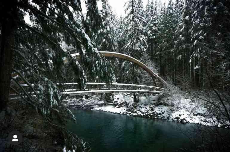 Middle Fork Snoqualmie Trailhead Bridge