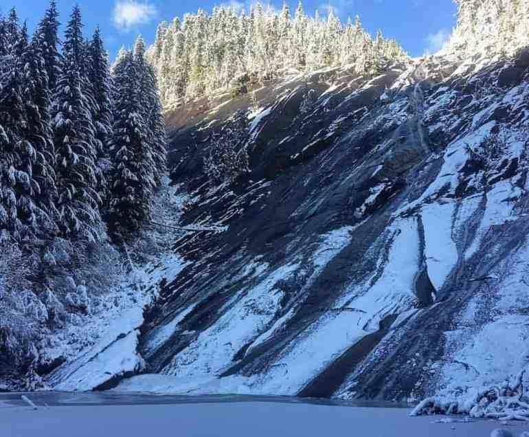Otter Falls in Winter