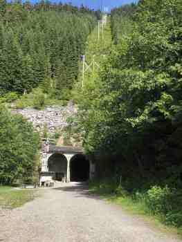 Palouse to Cascades Trail - West Entrance to Snoqualmie Tunnel