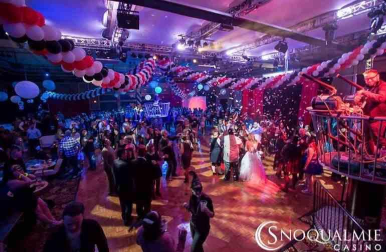 Snoqualmie Casino Ballroom New Years Eve