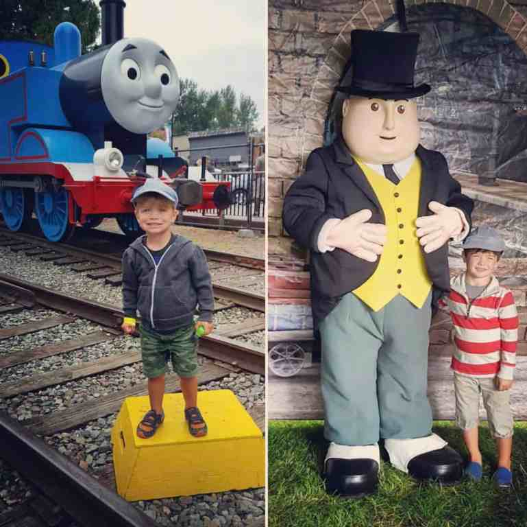 LIttle Ones Enjoying their Day Out with Thomas