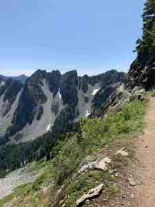 Trail along Kendall Katwalk