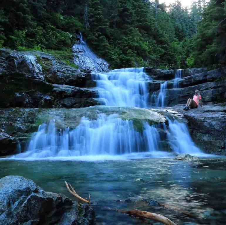 Denny Creek Natural Waterslide