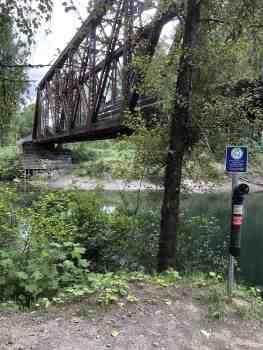 Ronette's Bridge from Reinig Road