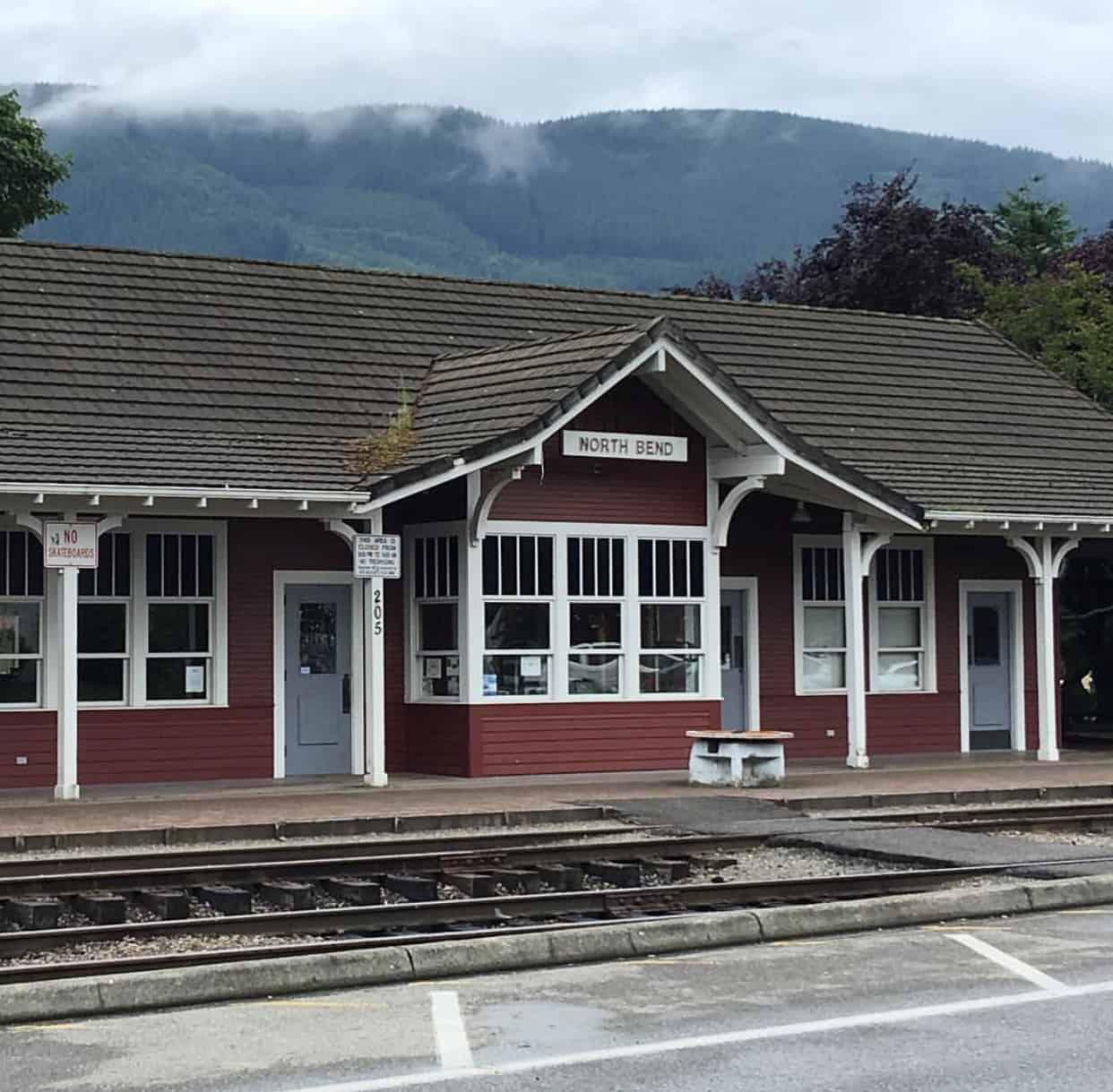 North Bend Train Depot
