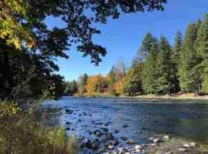 Middle Fork Snoqualmie River at Tanner Landing Park
