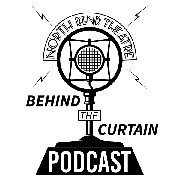 behind the curtain podcast logo