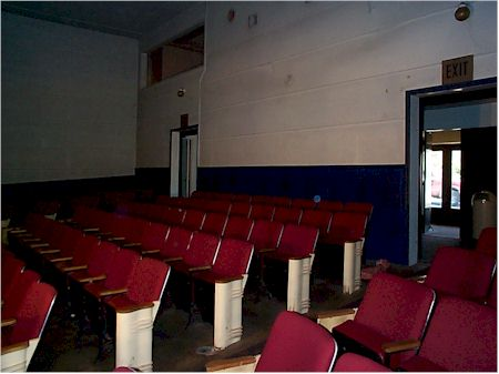 old back row seating and doors