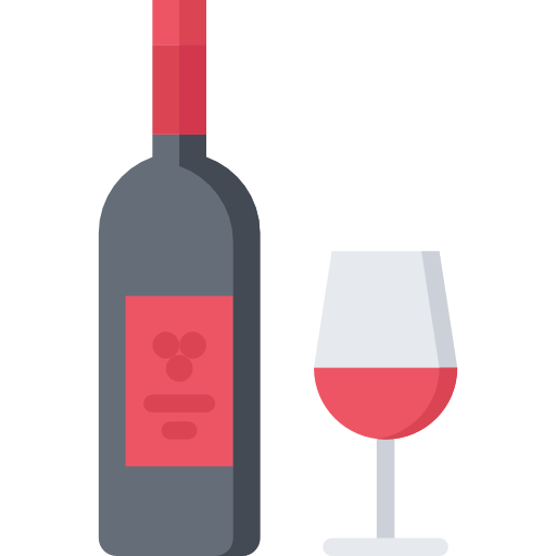 wine and glass icon
