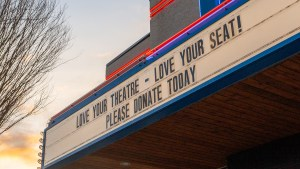 theatre marquee love your theatre love your seat