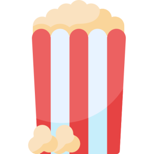popcorn for a year icon - temporary