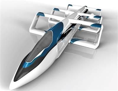 China, Japan develop aerotrain running 400-500 km/hour