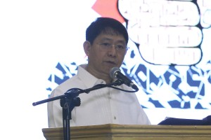 No gov't funds used for Bong Go shirts: DILG