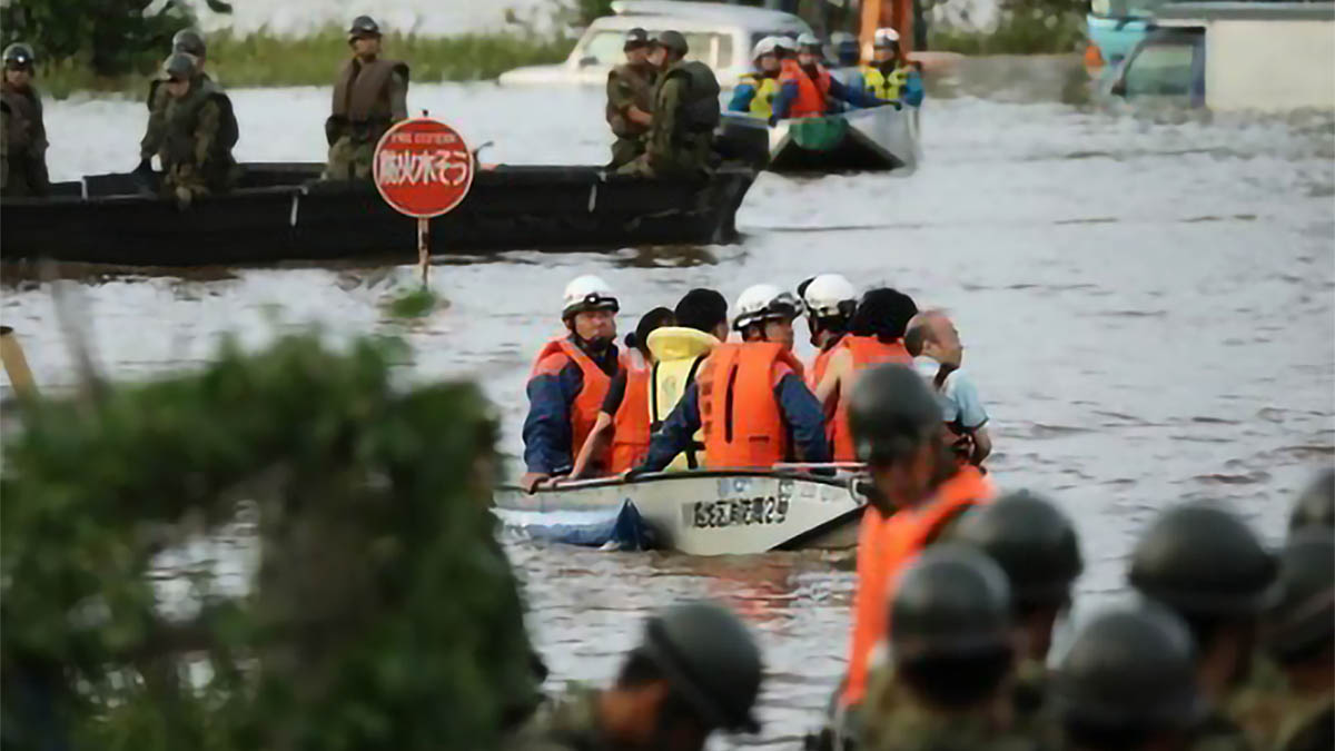 Death toll from Japan typhoon rises to 77