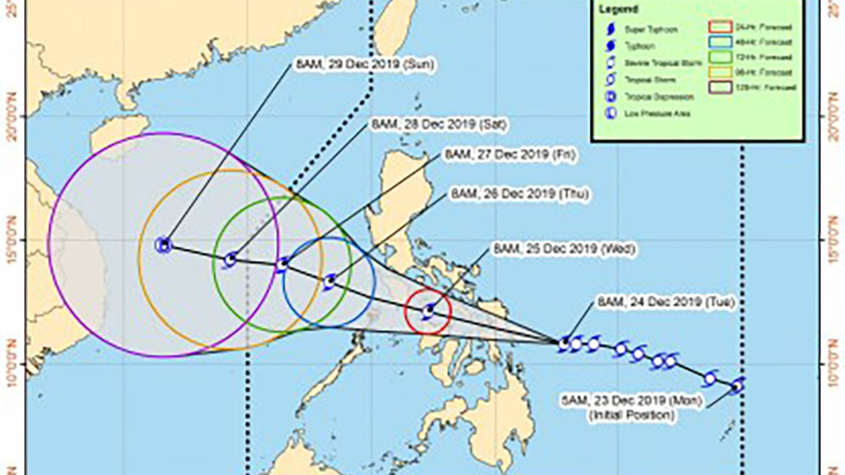 'Ursula' continues to threaten Eastern Visayas