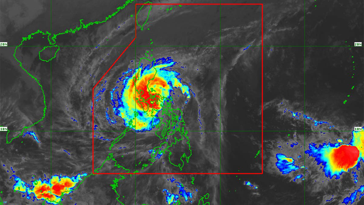 'Tisoy' maintains strength as it moves west