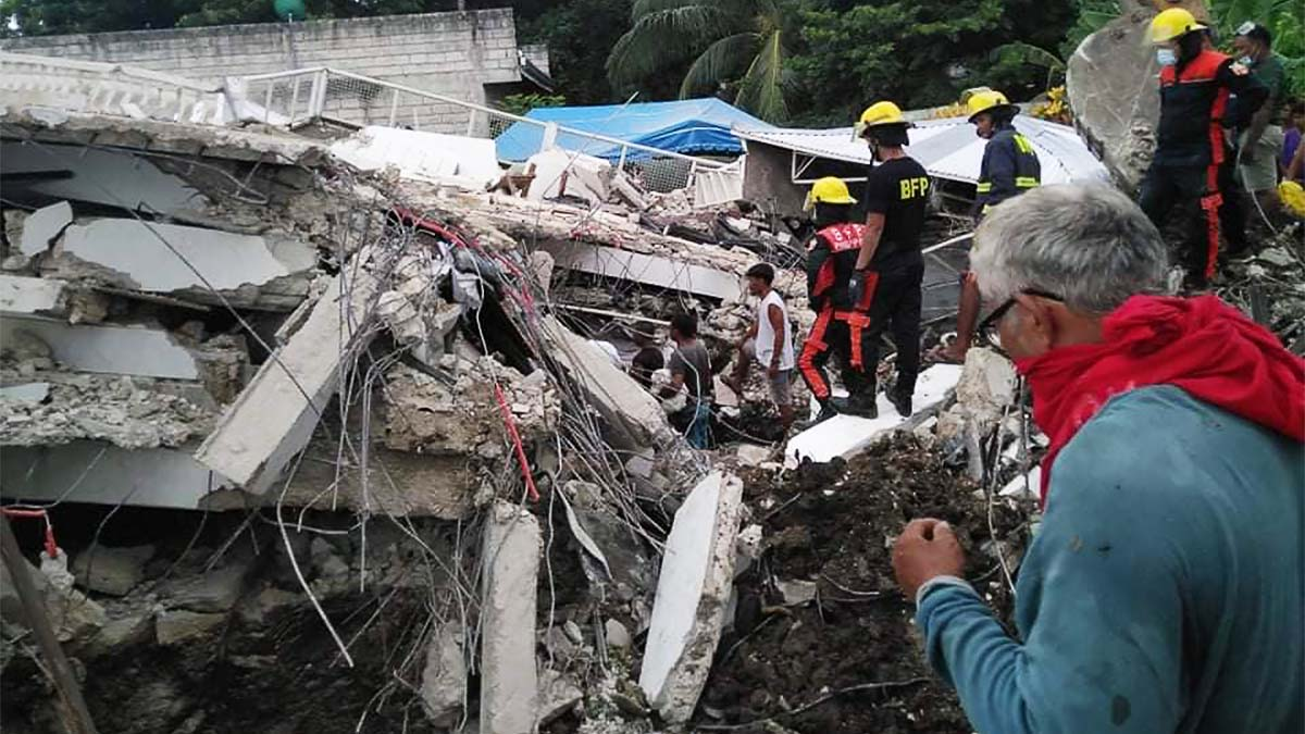 Masbate's magnitude 6.6 quake leaves 1 dead, several others injured