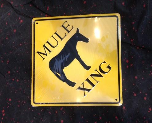 Warren Haynes Exhibit - Mule Sign 1