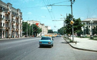 Grozny before war Chechnya North Caucasus pictures