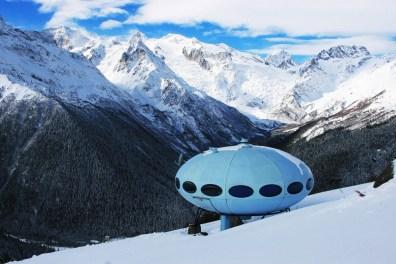Dombay winter hotel Greater Caucasus mountains North Caucasus Sochi Olympics 2014