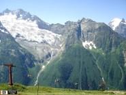 glacier Dombay Karachay-Cherkessia Great Caucasus mountains North Caucasus Sochi Olympics 2014