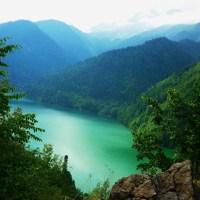 Lake Ritsa, Abkhazia/ Georgia