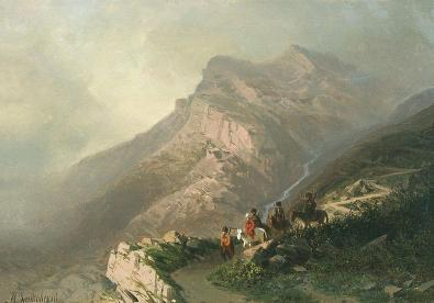 Zankovsky - Road on high mountainous Gunib Dagestan