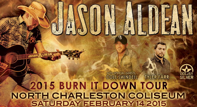 Aldean Down Burning Jason It