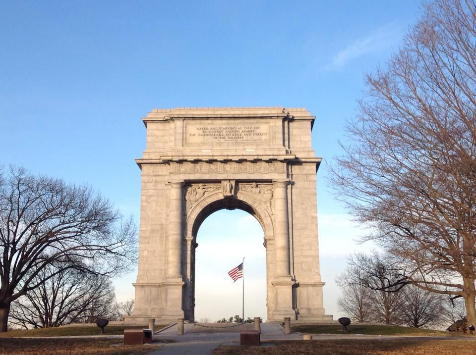 Valley Forge Arch