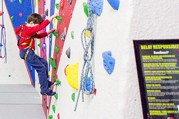 Difficulty Ratings at North Country Climbing Center