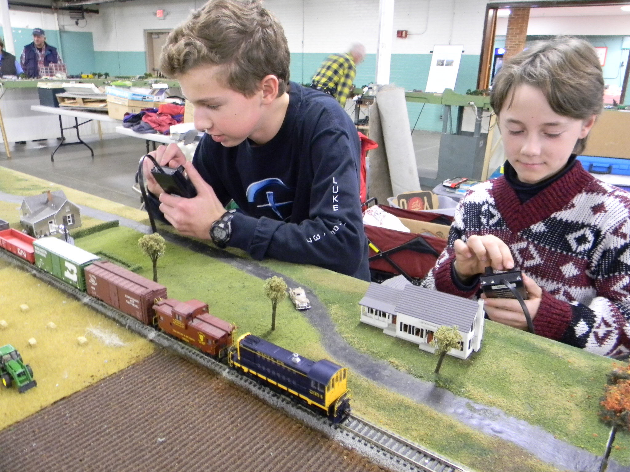 You think there's no young folks into model trains? look again! - Model  Railroader Magazine - Model Railroading, Model Trains, Reviews, Track  Plans, and Forums