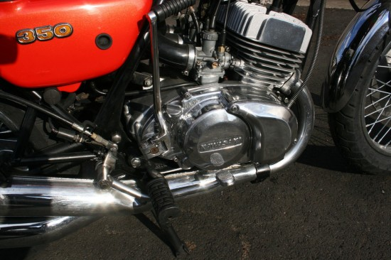 1973 Kawasaki S2 350 R Engine
